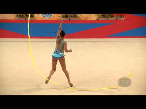 TASEVA Katrin (BUL) - 2018 Rhythmic Worlds, Sofia (BUL) - Qualifications Ribbon