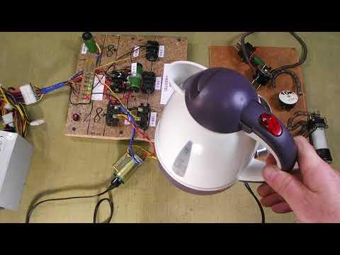 Автомобильный чайник, как нагрузка компьютерного стенда