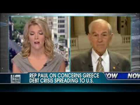 Ron Paul ~  Greece is Just the Beginning ~ There