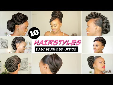 2018 Spring Summer Natural Hairstyles For Black Women Youtube
