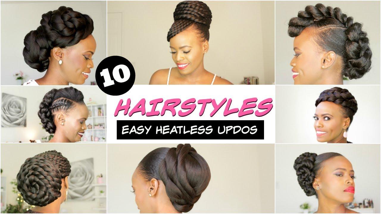 2018 spring & summer natural hairstyles