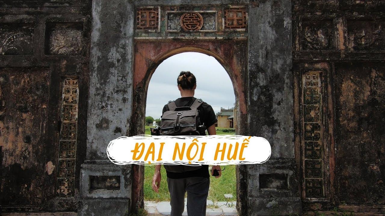 Đại Nội Huế - Quân Vương đuổi thiếp trong vườn ngự uyển // Huế vlog 2