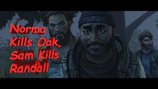 The Walking Dead Michonne Ep 3 What We Deserve - Norma Kills Oak, Sam Kills Randall