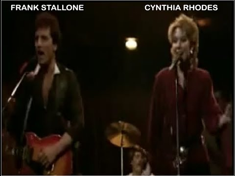Cynthia Rhodes & Frank Stallone - I'm never gonna give you up (lyrics)