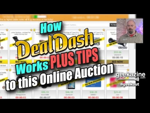 DealDash - How it works and Tips on this Online Auction