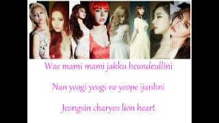 Video Lion Heart SNSD Lyrics download MP3, 3GP, MP4, WEBM, AVI, FLV Agustus 2018