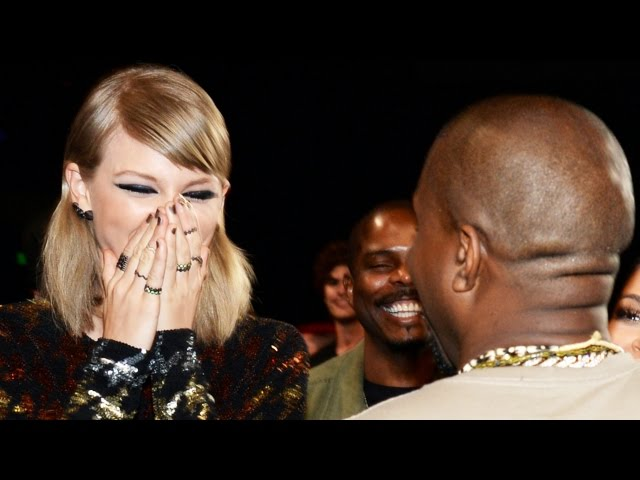 Taylor Swift Reacts To Kanye West Running For President Mtv Vmas 2015 Youtube