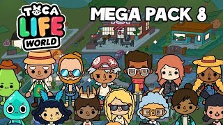 Toca Life: World - Unlock New Famiy House Pack 8