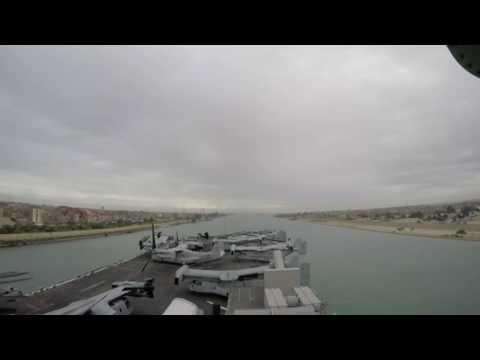 USS Wasp transits the Suez Canal Dec. 01, 2016