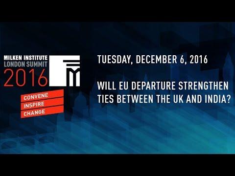Will EU Departure Strengthen Ties Between the UK and India?