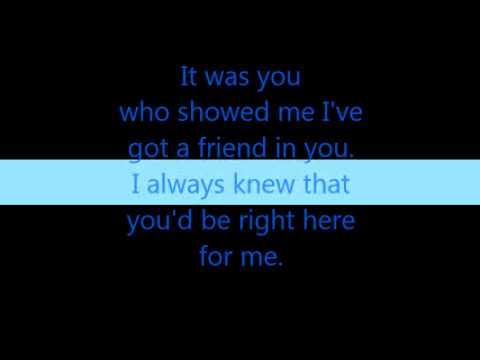 It Was You by Ashley Ballard {Lyrics}