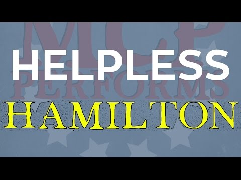 "Helpless - ""Hamilton"" cover by Molotov Cocktail Piano"