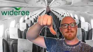 Wideroe E190-E2 Review: CRAMPED, UNCOMFORTABLE, DISAPPOINTING!