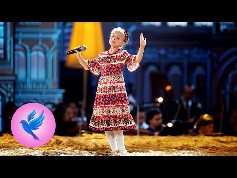 Екатерина Прокофьева. Русская народная песня «Барыня». Синяя птица 2017. Новый 3 сезон