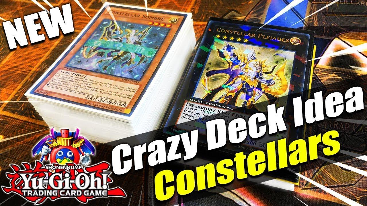 New Yu Gi Oh! Crazy Deck Idea! Constellar Deck Profile July 2018