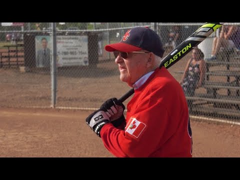 Meet the 90-year-old slugger proving you're never too old to play ball
