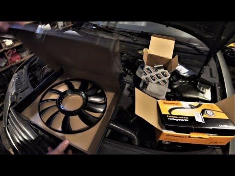 Замена комплекта грм и помпы VW Passat b5, AUDI, SKODA