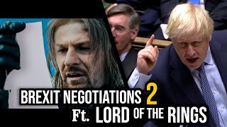 Brexit No Deal Debate (Lord of the Rings Impressions Dub)