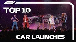 Top 10 F1 Car Launches