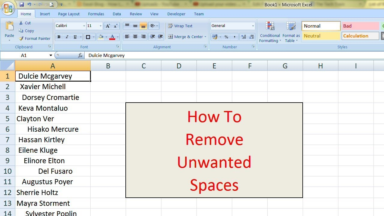 Watch How to Prevent Excel from Removing Leading Trailing Zeros video
