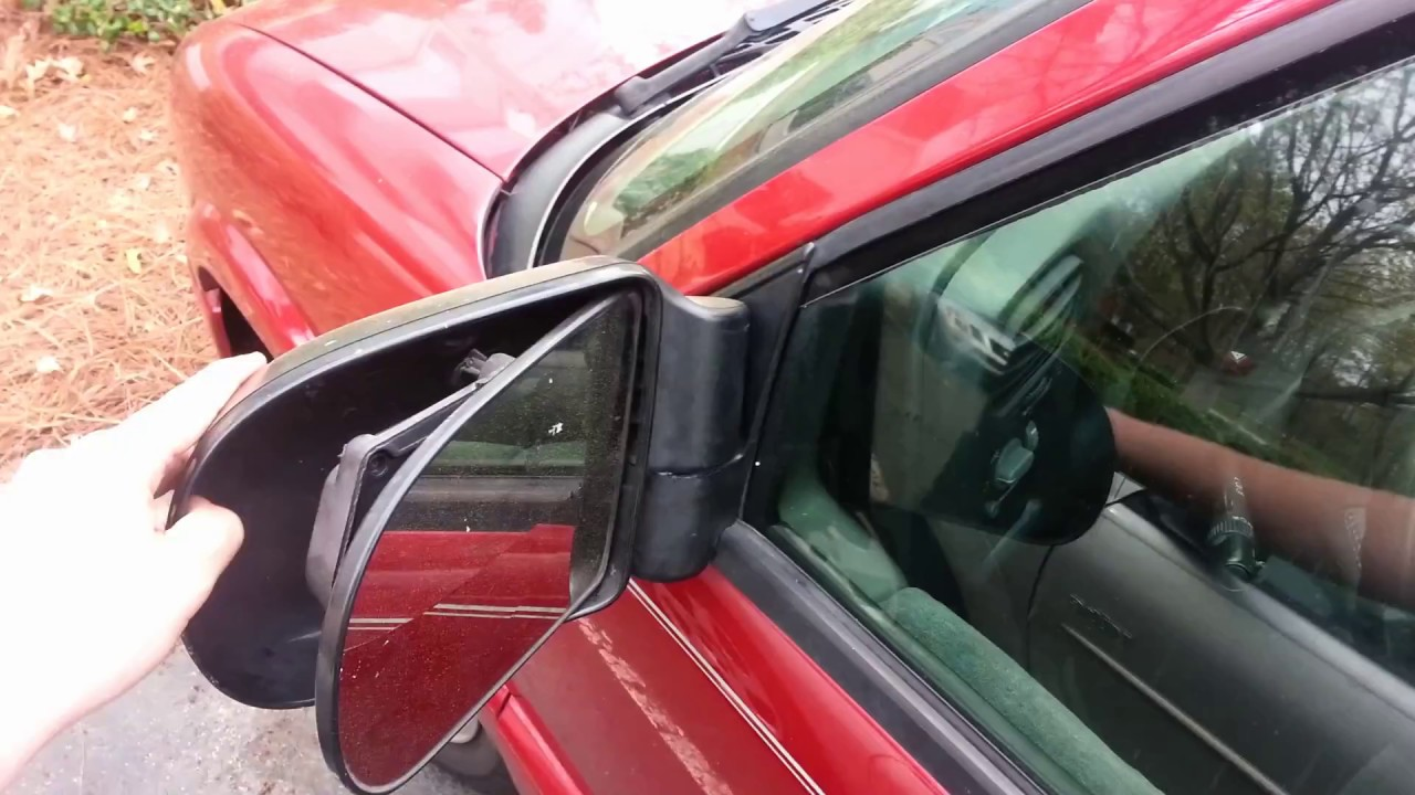Side Mirror And Door Panel 94 04 Chevy S10 How To Youtube