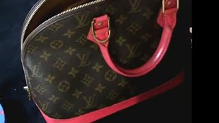 LV Alma Make Over - How I Paint Vachetta Leather