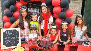 Hadil 15th Happy Birthday party - Message from Joseph Morgan