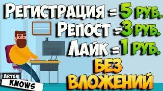 Заработок в интернете без вложений 50 руб в час. QComment.ru - как заработать