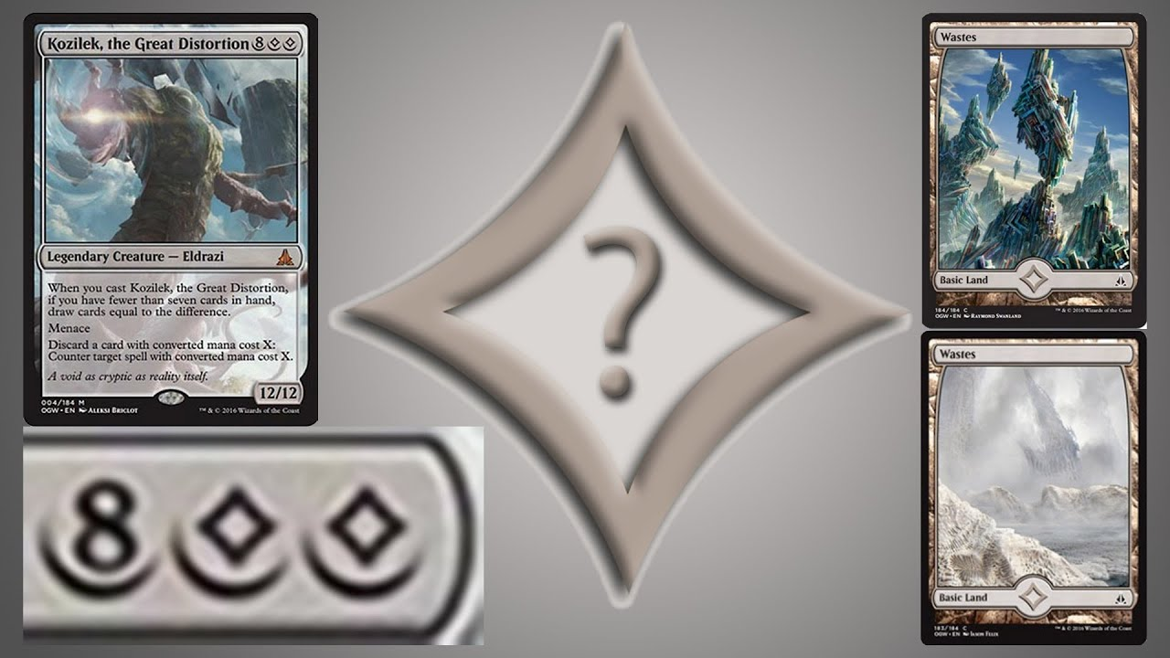 Explanation Of Colorless Mana In Mtg Oath Of The Gatewatch Youtube