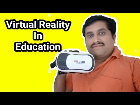Virtual Reality in education | Use of VR apps & VR Box | virtual classroom beyond frame | TG