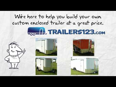 Clarksville Enclosed Trailers for Sale Near Me - See Clarksville Enclosed Trailers Here!