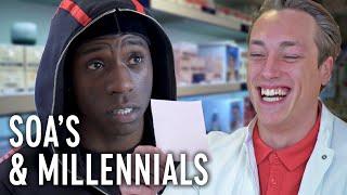 MEEST AWKWARD Apotheek OOIT! - Millennials