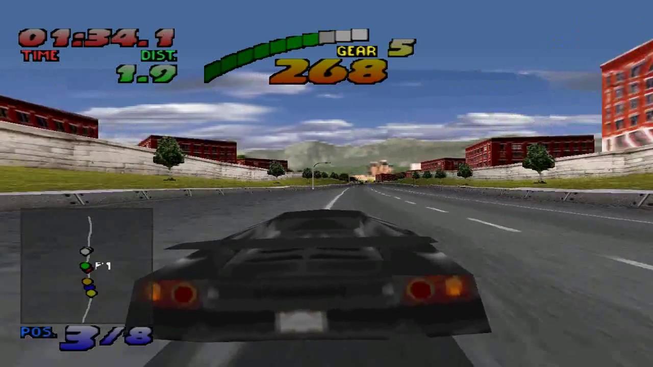 Retro Psx Need For Speed Gameplay Lamborghini Diablo Vt