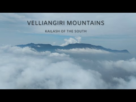 Velliangiri Mountains Top View Seventh Hill -2018