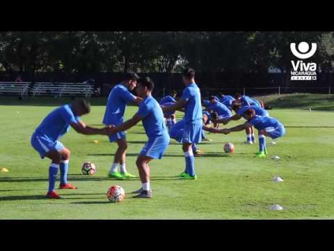 Selección de Nicaragua realiza primer entrenamiento en Miami