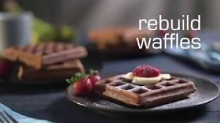 Простой рецепт вафель с коктейлем Гербалайф