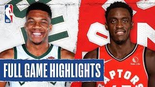Bucks At Raptors   Full Game Highlights   February 25, 2020
