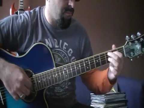 Black Label Society.  America the beautiful. Guitar Accompaniment Cover