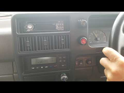 Isuzu Bighorn 1993 Diesel 4JG2 по автобану. (По русски)