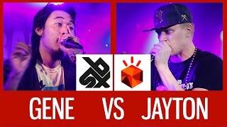 GENE (USA) vs JAYTON (RUS)   Grand Beatbox Battle 2015   SEMI FINAL