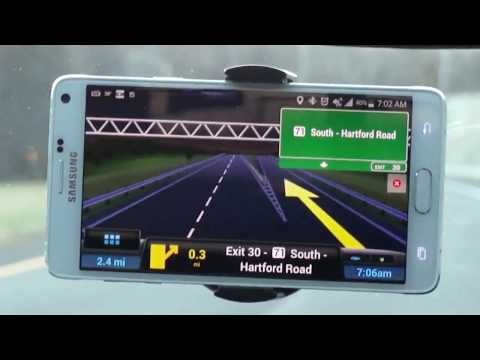 Review: CoPilot GPS For Android - YouTube