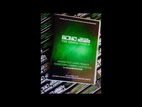 bionic the grand finale - SWANKIE DJ & KASHI CD19 - hardstyle/gabba/hardcore/