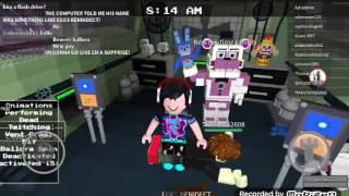 I play fnaf sister location roblox