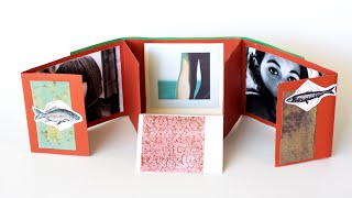 Альбом-раскладушка для фотографий своими руками