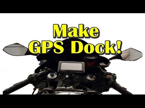 Gps hookup for motorcycle