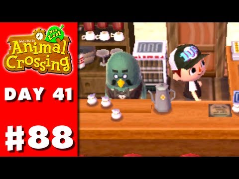 Animal Crossing: New Leaf - Part 88 - Coffee Employee (Nintendo 3DS Gameplay Walkthrough Day 41)