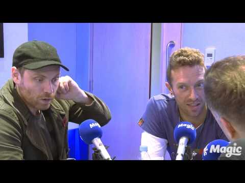 Coldplay on Magic in the Morning