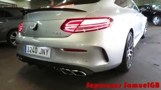 2016 Mercedes C63 AMG Coupé C205 / Start Up, Sound & Acceleration