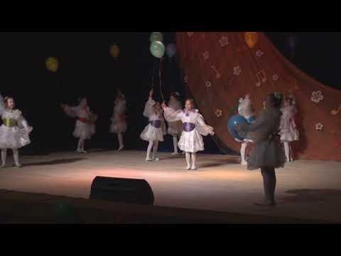 """Танец с Шарами. . Ансамбль """"Реченька"""" ДШИ им. Гречанинова А.Т. г. Светлогорск"""