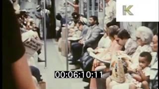 Riding the Subway, 1970s New York
